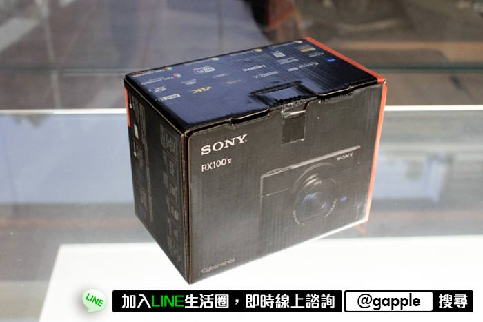SONY RX100 M5 外包裝盒
